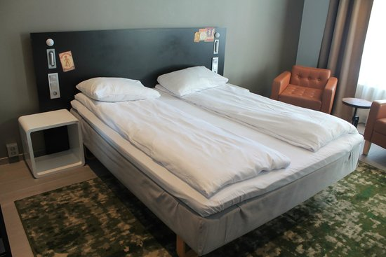 Comfort Hotel Grand Central : Comfortable bed