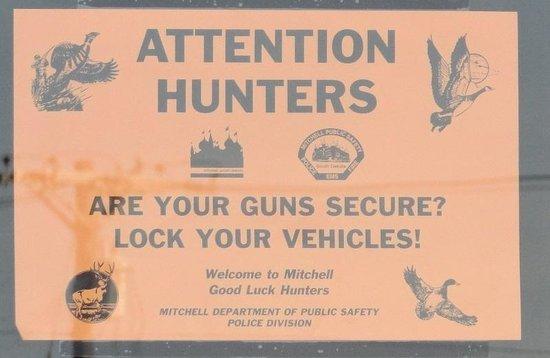 Super 8 Mitchell: Hunters: Lock up your guns