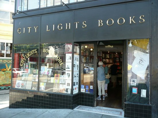 City Lights Booksellers: City Lights Bookstore in North Beach