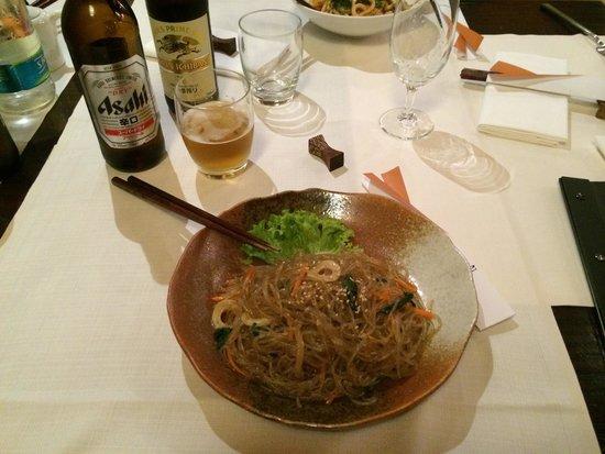 Tobiko: Spaghetti di patate coreani