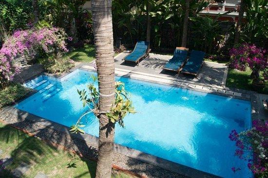 Terrace Bali Inn: Вид со второго этажа