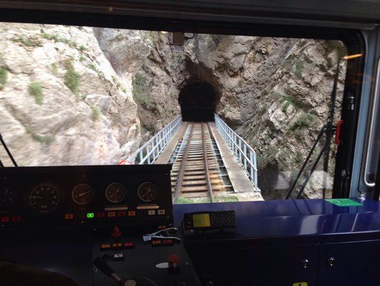 Vouraikos Canyon - Cog Railway : Great views