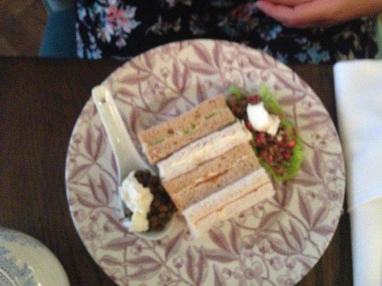 108 Brasserie : Gluten Free Sandwiches