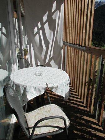 Panoramahotel Nigglhof: sehr geräumiger, sonniger Balkon