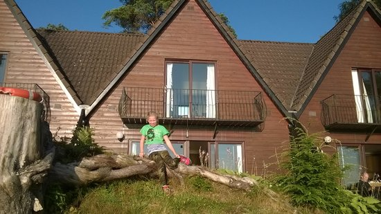 Lochend Chalets: Ons chalet