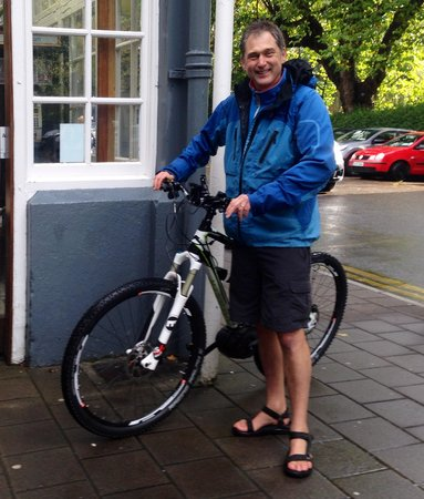 The Gardens B&B : Warm welcome for bikes