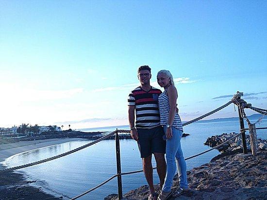 TUI Family Life Flamingo Beach Resort: me and my girlfriend