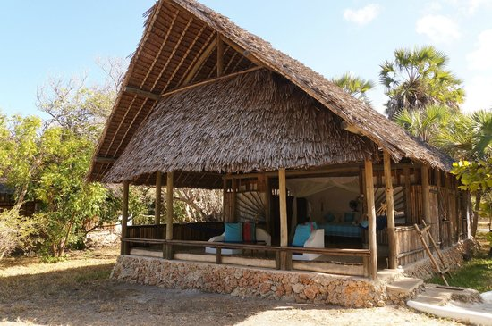 Ras Kutani: our room