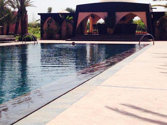 O'Atlas : La piscina