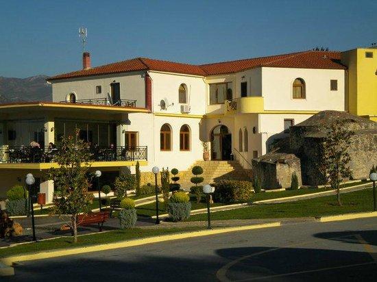 Hotel Hamam: εξωτερικος χωρος