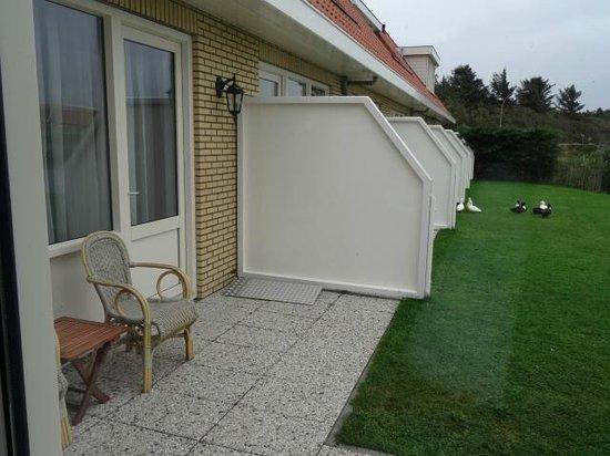 Hotel Tatenhove Texel: terras