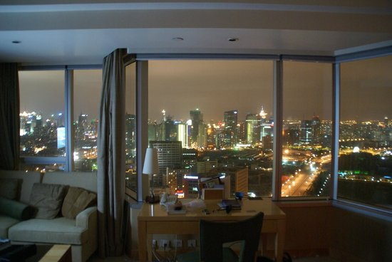DoubleTree by Hilton Shanghai Pudong: A view from window