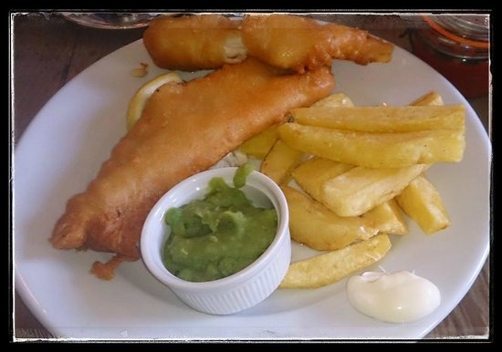 The Parlour: Fish and Chips