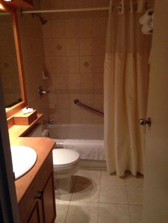 Salle de bain picture of hotel manoir victoria quebec for Salle de bain hotel