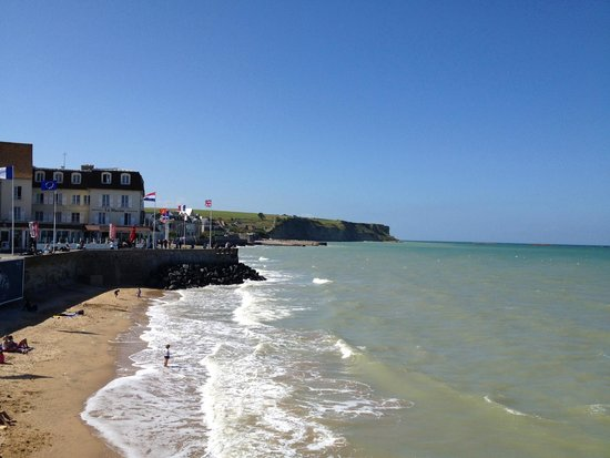 Le Mulberry: The beach at Arromanches