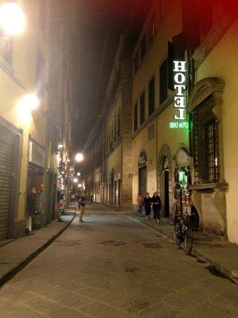 Hotel Centro: Via Ginori view