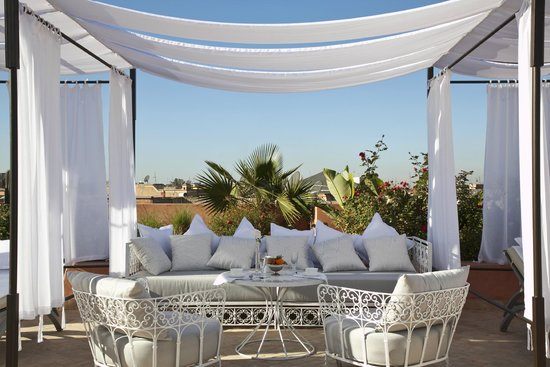 Riad Nashira & Spa: terrace