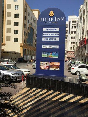 Tulip Inn Muscat : Tulip inn