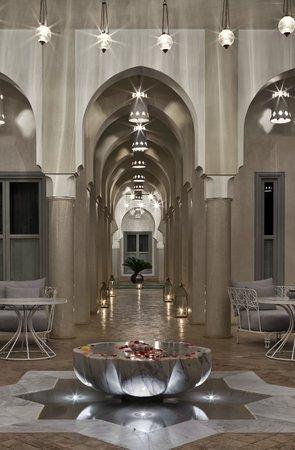 Riad Nashira & Spa: patio