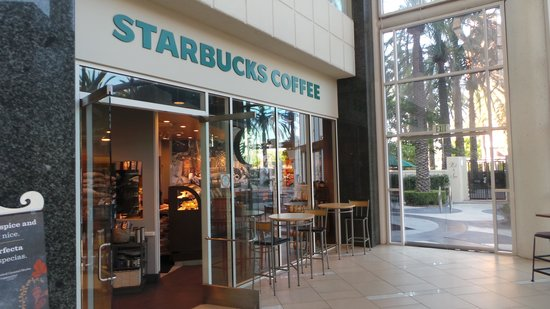 Starbucks picture of hyatt regency orange county - Hyatt regency orange county garden grove ca ...