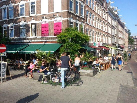 Binnen Buiten Amsterdam.Albert Cuijp Daily Market Foto Van Amsterdam Apartments