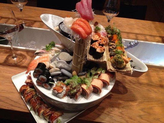 Parq: composizione sushi