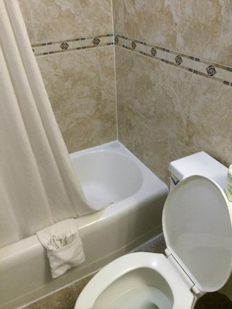 Days Inn Washington DC/Connecticut Avenue: Bathroom