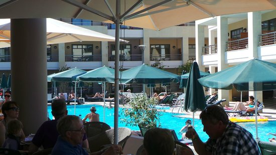 Porto Platanias Beach Resort & Spa: One of the pools
