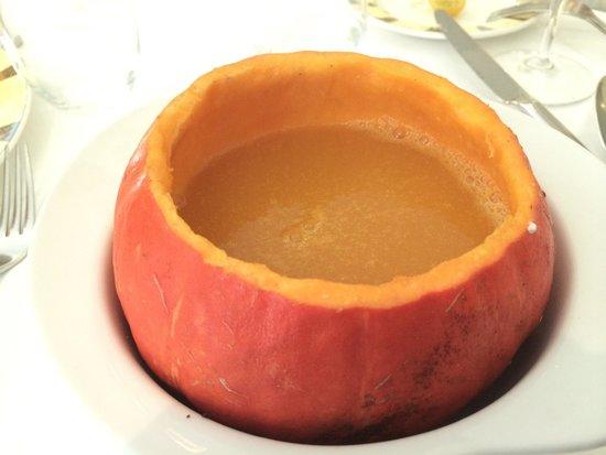 Bistrot le 7: Тыквенный суп