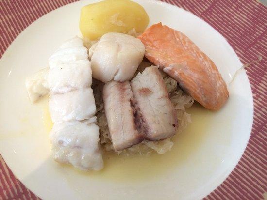 Bistrot le 7: Шукрут рыбный