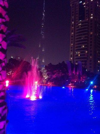 Shangri-La Hotel, Dubai : view from pool