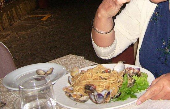 Ristorante Da Gigino : Spaghetti con le Vongole