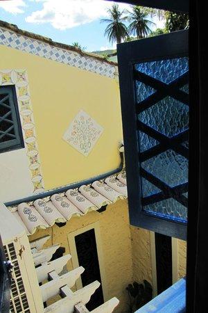 Estalagem Alcino: Vista da janela de um dos quartos