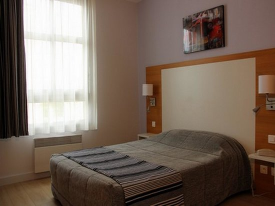 Inter-Hotel Continental Poitiers : chambre double confort