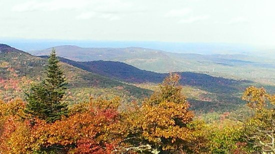 Fitzwilliam, NH: View from Pack Monadnock Mountain