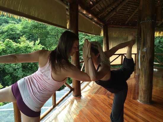 Amatierra Retreat and Wellness Center : Yoga
