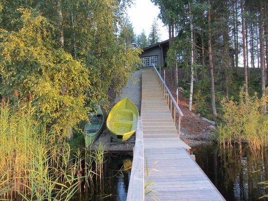 Finlande : AP-Contact Service Ky, коттедж Лехмус