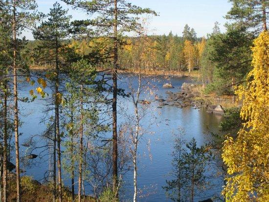 Finlande : Озеро Полвиярви, восточная Финляндия