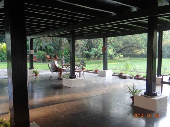 Mancotta Heritage Chang Bungalow: morning tea in peace and quiet