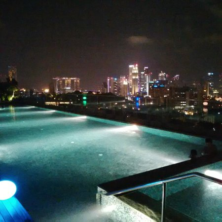 Infinity Pool Night