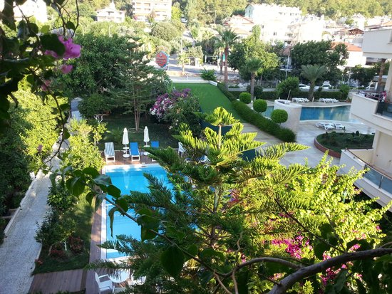 Orsmaris Boutique Hotel : view from the room
