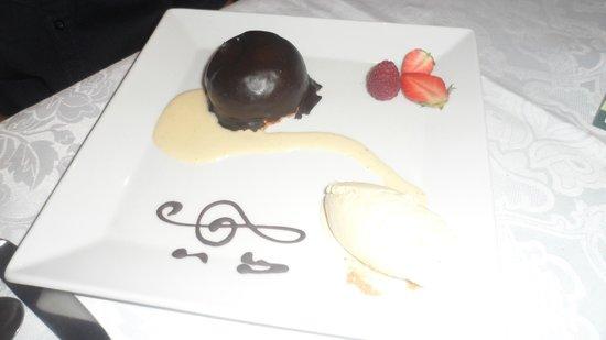 Hotel de l'Echo: Dessert Clément VI