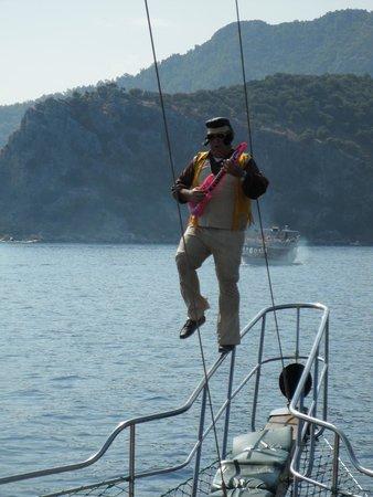 Elvis - Picture of Mega Diana Boat Trip-Tours, Marmaris - TripAdvisor