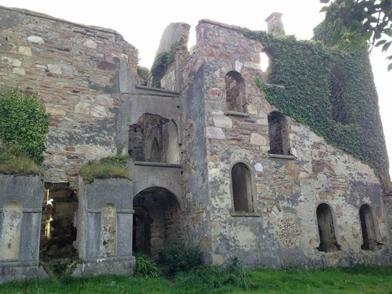 Clifden Castle : The rear