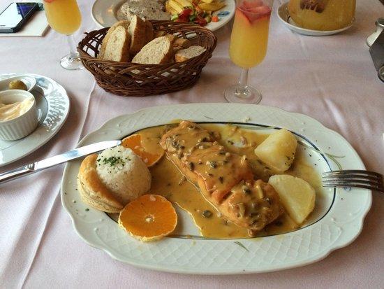 Miguel : Вкуснейшее блюдо из лосося в апельсиновом соусе!:)