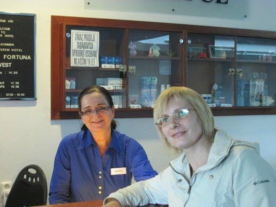 Fortuna West: Анетта. (слева)