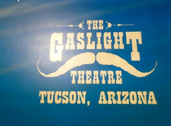 The Gaslight Theatre: Sign