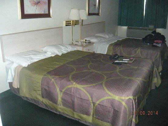 Super 8 Willcox : Bed's