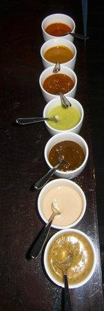 Empellon Cocina : The 7 salsa option