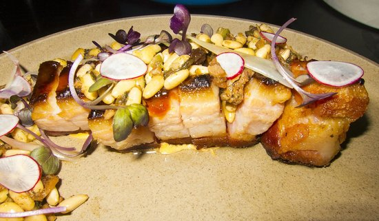 """Empellon Cocina : """"The Slab"""" (smoked pork belly)"""